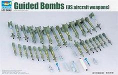 Trumpeter US Aircraft Weapons Set Air-to-Surface Missiles Plastic Model Diorama…