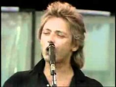 Benjamin Orr (The Cars) on the Live AID concert (1985.)           Drive and JWIN!!!!!!          Perfect!