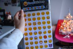 emoji stickers.♡ Umm.. Yes! Whenever i do a paper for school i always am like., there should be a crying emoji here, or a laughing one here