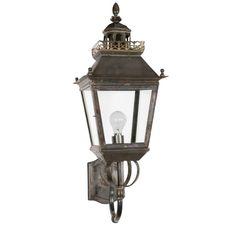 Chateau Wall Lantern landelijk van Windsor kopen | LampenTotaal
