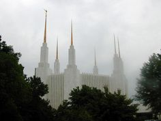 Click to enlarge this image of the Washington D.C. Mormon Temple