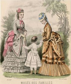 Time Traveling in Costume: WORKING OUT THE DETAILS: Truly Victorian 1873 polonaise