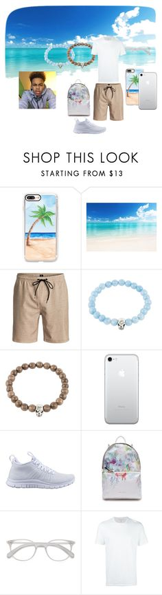 """""""Vacation it away"""" by quise101 on Polyvore featuring Casetify, Quiksilver, Latelita, NIKE, Ted Baker, Neil Barrett, men's fashion, menswear and vacation"""