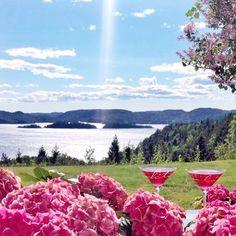 """""""1 juli, stekende sol og 24 grader - helt perfekt☀️☀️☀️☀️ #myhome #homeandgarden #inspiration #summer"""""""