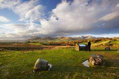 UK, England, Cumbria, Great Britain, Yorkshire Dales National Park, Sedbergh, Howgill Fells - eStock