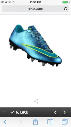 Nike Mercurial Veloce Firm-Ground... i really like these! i have the  turquoise ones with neon yellow writing <3 &#124; Soccer :) &#124; Pinterest &#124; Neon  yellow, ...