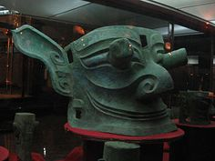 Large mask with protruding eyes at Sanxingdui - Wikipedia, the free encyclopedia