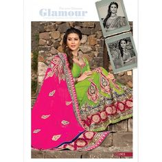 Designer Clothes, Shoes & Bags for Women Green Lehenga, Indian Sarees Online, Bridal Lehenga Choli, Indian Ethnic Wear, Dressing, Glamour, Stylish, Lush, Chic