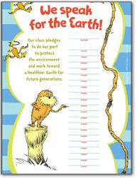 Earth Day is coming up! You can't go wrong with the Lorax! He speaks for the trees you know :)