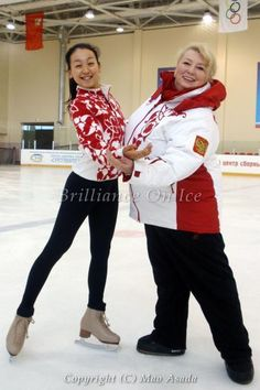 Mao & Tatiana Figure Skating Quotes, Gym Leotards, Ice Show, Ice Skaters, Coach Me, Skater Girls, Summer Olympics, Roller Skating, Dance Dresses