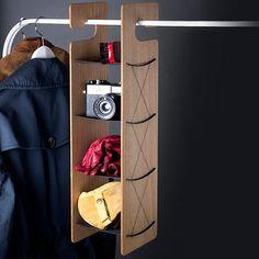 4.2 Smardrobe - Oak/Black by Smardrobe | MONOQI #bestofdesign
