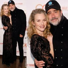 Hilarie Burton and Jeffrey Dean Morgan attend the Adrienne Shelly Foundation 10th Anniversary Gala on December 5, 2016 in New York City. -  #jeffreydeanmorgan #negan #lucille #twd #thewalkingdead #spn #supernatural #johnwinchester #greysanatomy #hilarieburton #oth #onetreehill #peytonsawyer #fandom