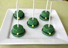 Leprechaun Hat Cupcake Pops Recipe