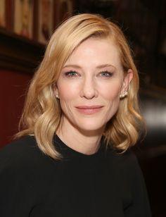 Cate Blanchett Reveals an Even Shorter Bob