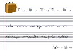 caligrafia M