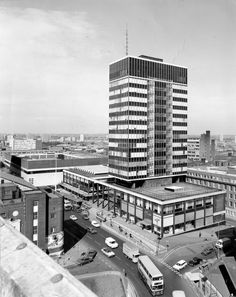 Old Birmingham Post and Mail building in Colmore Circus Birmingham City Centre, Birmingham Uk, Old Pictures, Old Photos, Walsall, 2nd City, West Midlands, Local History, Yesterday And Today
