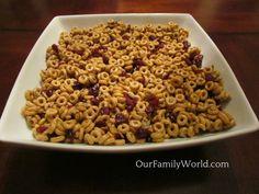 Healthy snacks for kids: Banana Nut Cheerios Energy Bars Recipe