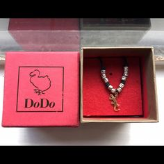 "DoDo Gecko necklace I have loved this necklace for some years Then I just kept away and now I think it's time to find somebody else to love it! ❤️ retail price $350 + 10 hammered silver beads that should value about $50 or even more. The black chord is is fair condition after use, but you can go in any DoDo retailer to ask for a new one. Gecko in gold 18k. Both the gecko and the beads need to be cleaned with a specific product because presents darker spots due time. 10.5"" long. trade DoDo…"
