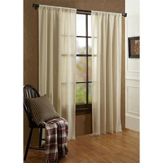 Our Tobacco Cloth Curtain Collection is light and airy, perfect for spring!  Available in 5 colors.   Shop the collection at The BitLoom Co.:  https://www.thebitloom.com/collections/country-rustic-curtains/products/tobacco-cloth-tan-curtain-collection