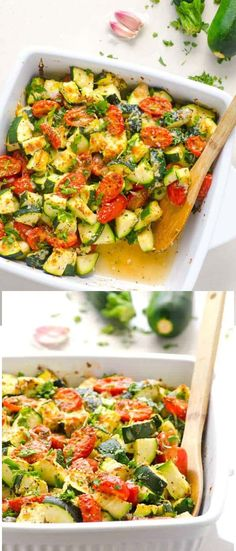 Food Recipes Zucchini Tomato Bake | I made the Zucchini Bake with Tomato, Garlic, and Parmesan as a side dish to take to a dinner party this evening. The cost to prepare was very reasonable, it was quick to prep, the clean up easy, and most importantly, everyone enjoyed it. I used 4 Zucchini, that was a total of 2.5 pounds, My... #Bake, #Delicious, #FoodRecipes, #Tomato, #Zucchini