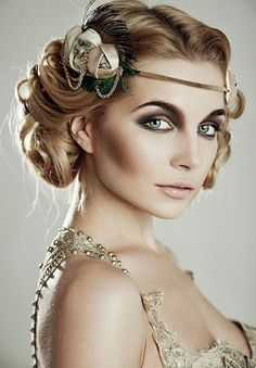 Nice 40+ Great Gatsby Inspired Makeup Styles