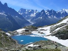 Tour de Mont Blanc, France - gorgeous scenery and hiking every day