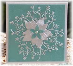 Memory Box Snowflake corner + cards - Google Search