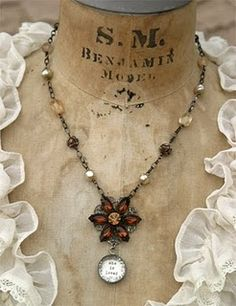 Inspiration for a Victorian era stamp cancellation mark bezel...change out the flower with a large heart.