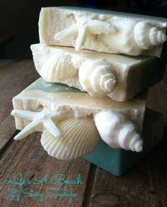 Handcrafted Artisan Life's a Beach Goat Milk Soap by Sassysundries, $6.00: