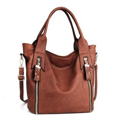 Beautiful Bag. Great quality, great size! PU Leather Hobo Fashion Handbags for Women