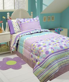 Designer Bedding Sets On Sale Refferal: 6997673165 Aqua Bedding, Teen Bedding, Bedding Sets, Green Comforter, Nursery Bedding, Girl Nursery, Baby Bedroom, Girls Bedroom, Bedroom Decor