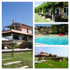 CAPALBIO (GR) - Una villa da sogno, situata su uno splendido poggio, circondata dal verde, con vista a 360° su mare, torre di Capalbio, uliveto e campagna circostante. http://www.rossomattone.eu/Capalbio_Capalbio_Vendita_Holidays_Via_Capalbio-h38-m16-s24-p16.html?&conta_lista=0&metodo=DESC&ordina=