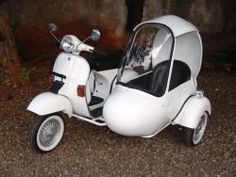 62 Best Scooters With Sidecars Images Sidecar Vespa