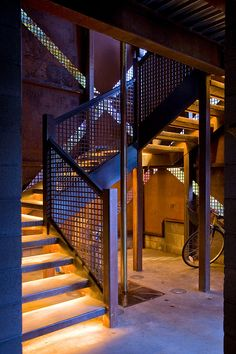Anderson Pavilion by Miller Design #industrial ~ Love the angles