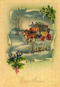Miss Jane - Christmas Postcard