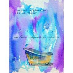 TAKE ART - Un baño relajante de espuma