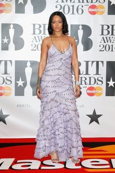 Rihanna in Armani