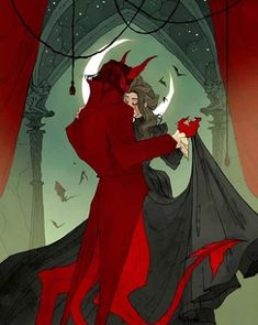 Love Like Blood: The Superb Macabre And Gothic Artworks Of Abigail Larson Dark Fantasy Art, Dark Art, Abigail Larson, Gothic Artwork, 3d Artwork, The Beast, Ange Demon, Arte Horror, Horror Art