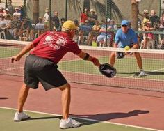 A senior-citizen friendly sport called Pickleball - described as a compact version of tennis - is sweeping RV parks and resorts across the Sunbelt. #joyofsport http://www.gocampingamerica.com/blog/31-rv-resorts-with-pickleball-courts#sthash.3F0PK8fd.dpuf