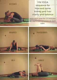 Yin yoga, hips and spine, 30 min Use the sequence card or the video!