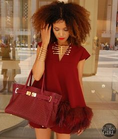 theglobalgirl:  New Blog Post on theglobalgirl.com:Monochromatic With A Twist
