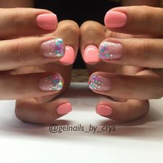 Tealberry LE Leading Lady and Fancy Nails, Love Nails, Pretty Nails, Gorgeous Nails, Shellac Nails, Glitter Nails, Acrylic Nails, Pink Nails, Dipped Nails