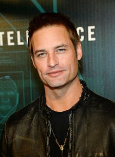 Josh Holloway at 'Intelligence' premiere party. Grooming by Kim Verbeck.