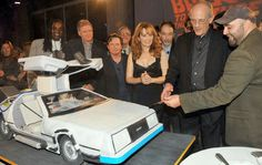 Back to the Future Cake.  Ace of Cakes created Back to the Future 25th Anniversary cake.