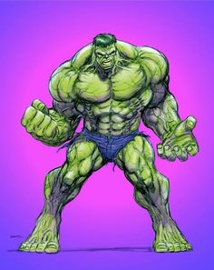 #Hulk #Fan #Art. (Hulk) By: Kerry Gammill. ÅWESOMENESS!!!™ ÅÅÅ+