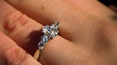 Find your perfect three stone engagement ring with Valentina. Our multi-stone engagement rings are set with certified diamonds to guarantee exceptional quality. Three Stone Engagement Rings, Three Stone Rings, Lab Diamonds, Future, Jewelry, Future Tense, Jewlery, 3 Stone Engagement Rings, Jewerly