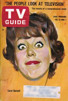 Carol Burnett on TV Guide cover Feb. There has never been another TV show that was funnier than the Carol Burnett Show. Even the people on the show had a hard time keeping a straight face. Archie Comics, Mary Tyler Moore, Carol Burnett, Tv Times, Television Program, Old Tv Shows, Vintage Tv, Fandoms, Classic Tv