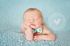 My man will rock at least one bowtie in his NB pics.