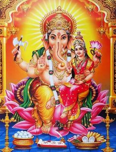 Make this Ganesha Chathurthi 2020 special with rituals and ceremonies. Lord Ganesha is a powerful god that removes Hurdles, grants Wealth, Knowledge & Wisdom. Shiva Hindu, Hindu Deities, Hindu Art, Krishna, Shiva Shakti, Ganesha Pictures, Ganesh Images, Lord Ganesha Paintings, Ganesha Art