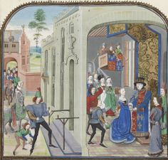 15th Century Clothing, Medieval Paintings, Bnf, Zoom, Middle Ages, Paint, Kleding